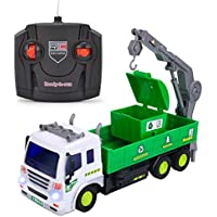 EsOfficce Remote Control Truck 4 WD Recycle Garbage Crane?Truck1:16 RC Vehicle with Light 【You&Me】 [並行輸入品]