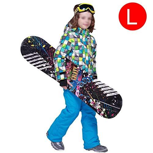 Easylifee スノーボードウェア キッズ 上下セット スキーウェア ボーイズ ガールズ 防風 ...