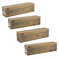 Konica Minolta MAGICOLOR 1690MF High Yield Toner Cartridge Set by Konica-Minolta