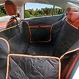 Sanaris 新型ペット用ドライブシート 後部座席カバー 軽自動車シートカバー 高品質 撥水力強く 防水 滑り止め 汚れに強い 取り付け簡単 折りたたみ可 犬 猫に対応