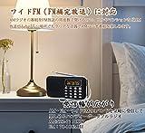 【Newiy Start】ポータブルラジオ 充電式 AM FM ワイドFM対応 ポケットラジオ 高感度 デジタル 小型 FMラジオ LEDライト アンテナ スピーカー付き USBメモリ マイクロSDカード対応 MP3プレーヤー NS-Y-896AM(ブラック)