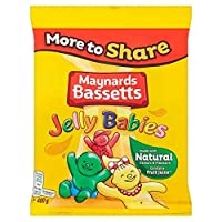 [Maynards] メイナーズBassettsゼリーの赤ちゃん400グラム - Maynards Bassetts Jelly Babies 400G [並行輸入品]