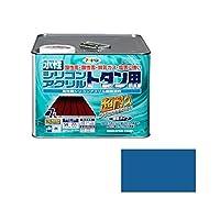 アサヒペン AP 水性シリコンアクリルトタン用 7L スカイブルー ds-1828640