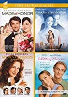 (Four-Feature Film Set) Made of Honor/Maid in Manhattan/My Best Friend's Wedding/The Wedding Planner [並行輸入品]