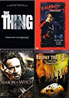 Witches Not Humans! - Season of the Witch & The Thing + Friday 13th Jason Lives & Nightmare on Elm Street Freddy's Revenge 4-DVD Horror Bundle【DVD】 [並行輸入品]