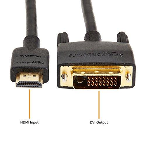 『Amazonベーシック HDMI-DVI 変換ケーブル 1.8m (タイプAオス - DVI24pinオス)』の2枚目の画像