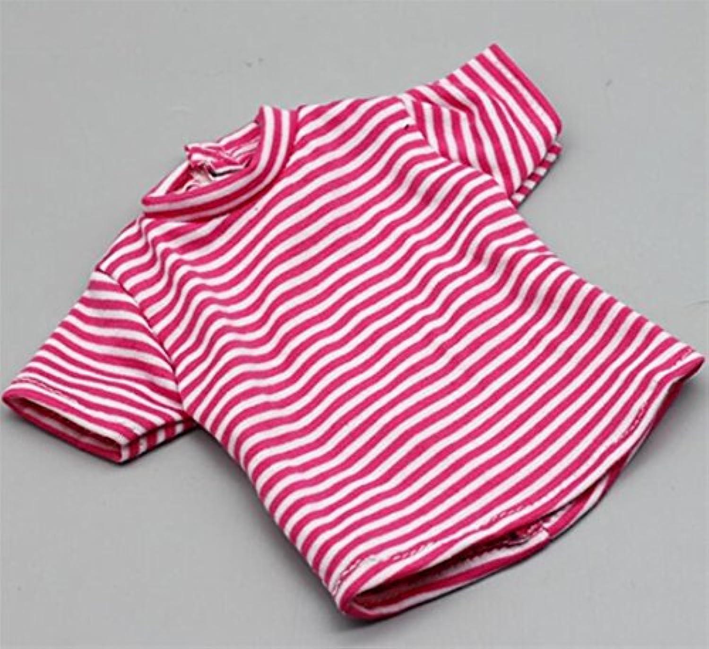 HuaQingPiJu-JP 18インチアメリカ人形Tシャツ(ロージー)
