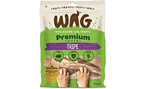 Tripe 750g, Grain Free Hypoallergenic Natural Australian Made Dog Treat Chew, Perfect for All Sizes & Breeds