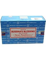 Satyaバンガロール(BNG) Buddha 's Blessings Incense Sticks 12ボックスX合計15 g180グラム