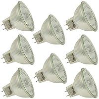 Industrialパフォーマンスq50mr16/ FL / gy8/ CG 120V、50ワット、mr16、電球バイピン( gy8)ベースライト電球( 8)