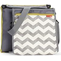 Skip Hop Baby Infant & Toddler Central Park Waterproof Convertible Outdoor Blanket & Detachable Cooler Bag Multi Chevron [並行輸入品]