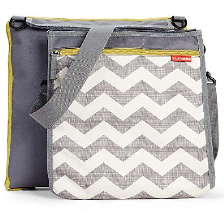 Skip Hop Baby Infant & Toddler Central Park Waterproof Convertible Outdoor Blanket & Detachable Cooler Bag Multi Chevron [並行輸入品]