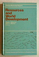Resources and World Development