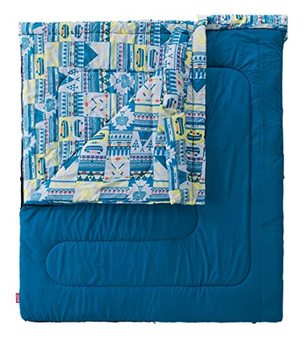 人道的陰気平方コールマン(Coleman) 寝袋 ファミリー2in1 C5 使用可能温度5度 封筒型