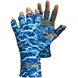 Glacier Glove Islamorada Gray Sungloves