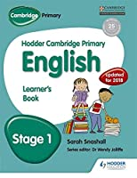 Hodder Cambridge Primary English: Learner's Book Stage 1 by Sarah Snashall(2015-03-25)