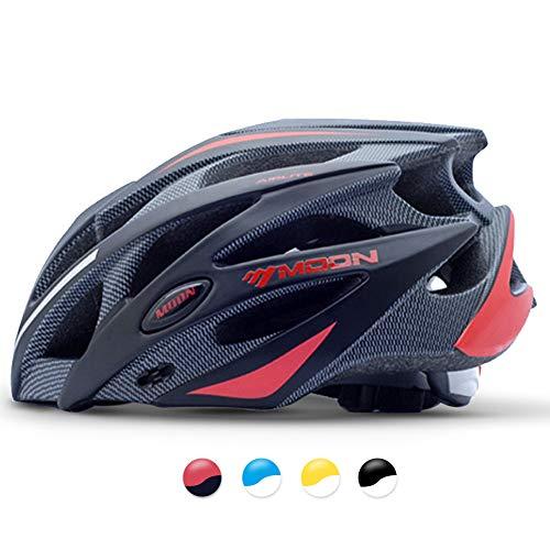 MOON 自転車 ヘルメット ロードバイク サイクリング ヘルメット 超軽量 高剛性 サイズ調整 25通気穴 スポーツ 大人 男女兼用 B07N1M9NJ9 1枚目