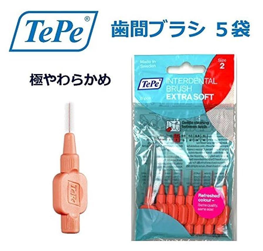 対応する自体炎上テペ 歯間ブラシ 極やわらかめ(エクストラソフト) 0.5mm 5袋
