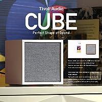 【Tivoli Audio チボリオーディオ】ArtCube アートキューブ コンパクト Bluetooth スピーカー (ウォルナット/グレー)