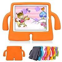 Lioeo子供用iPad Air保護ケース 可愛い 3D 軽量 耐衝撃 耐久性 エチレン酢酸ビニール(EVA)製フォーム Apple iPad第5/6世代 9.7 inch Ipadair/air2PC04OR