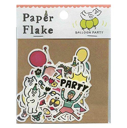 AIUEO Paper Flake/ペーパーフレーク【balloon party】 APF-19