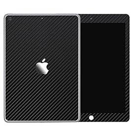 [全31色] wraplus for iPad mini5 第5世代 2019 [ブラックカーボン] スキンシール 前面 背面 カバー フィルム