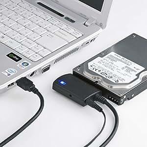 サンワサプライ SATA-USB3.0変換ケーブル 0.8m USB-CVIDE3
