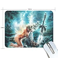 Mabel D. Silva Violent Beauty Mouse Pad Game Office Thicker Mouse Pad Decorated Mouse Pad [並行輸入品]