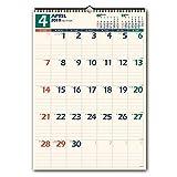 能率 NOLTY 2019年 カレンダー 壁掛け31 B3 C129