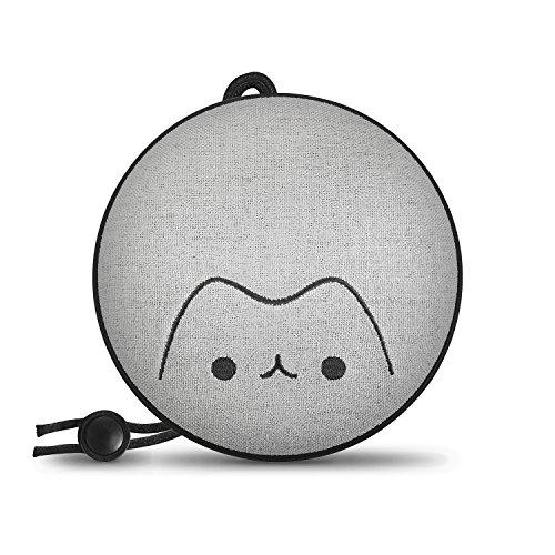 ZNT PocketNeko bluetooth スピーカー 磁石吸着式 ポータブルスピーカー 手のひらサイズ 軽量 高音質 IPX5防水 ハンズフリー通話 AUXケーブル/ストラップ付き【お風呂・アウトドア】
