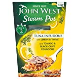 John West Steam Pot Tuna with Lemon & Thyme & Couscous (150g) レモンとタイム、クスクスとジョン?ウェストスチームポットマグロ( 150グラム)