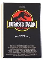 Jurassic Parkムービーポスター冷蔵庫マグネット( 2x 3インチ)