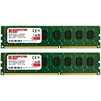 Komputerbay 16GBメモリ 2枚組 8GBX2 DUAL デスクトップパソコン用 増設メモリ DDR3 PC3-10600 1333MHz 240pin DIMM