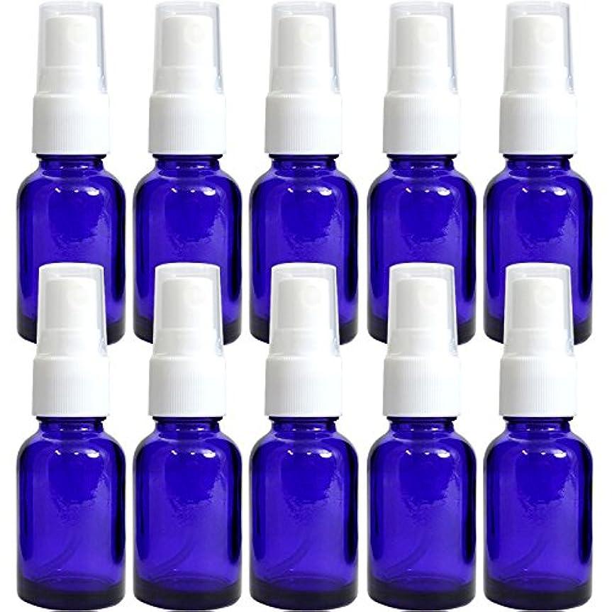 遮光瓶 ブルー 20ccスプレー SYA-B20ccスプレー -10本セット-