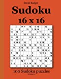 Sudoku 16 x 16: 100 Sudoku puzzles Volume 3