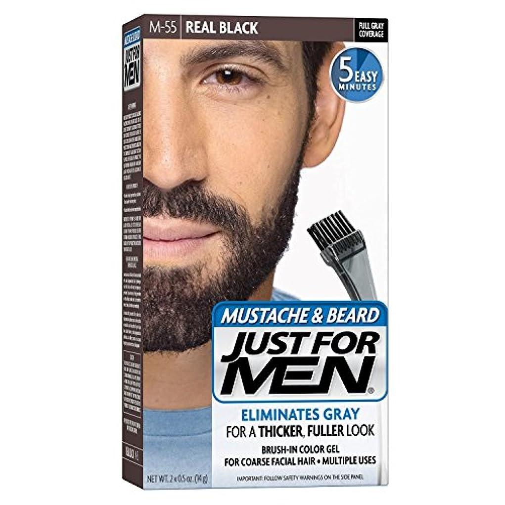動力学物質不調和Just For Men Mstch-Beard #M-55 Real Black Color Gel (並行輸入品)