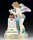 古マイセン 高額 フィギュア フィギュリン 大型 天使人形 大きな翼をもつ天使 1775年 MVアシエ作 レアモデル