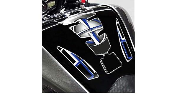 Puig 4718N Black and Blue Tank Pad Model Violent