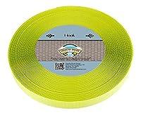 Country Brook Design ホットイエロー 縫い付けフックのみ (1インチ) 50 Yards イエロー H-HYE-1-50