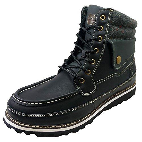 [リベルトエドウィン]LiBERTO-EDWIN 防水・ 防寒 メンズ ブーツ 25.5cm Black