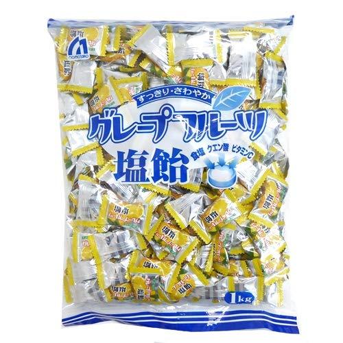 桃太郎製菓 グレープフルーツ塩飴 1kg×50袋
