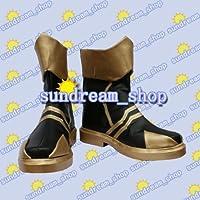 【サイズ選択可】女性25CM★コスプレ靴 ブーツ★20397★キングダムハーツ★テラ