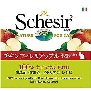 シシア (Schesir) キャット チキン&アップル 75g