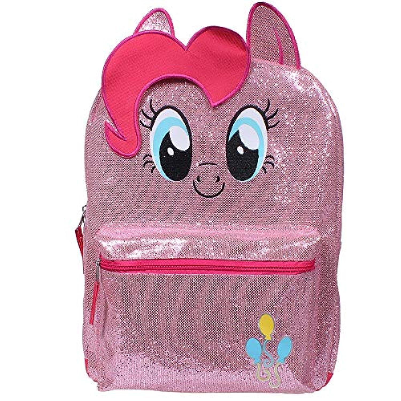 My Little Pony (マイリトルポニー) ラメがキラキラのフルサイズ リュックサック ピンキーパイ (40cm) [並行輸入品]