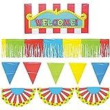 Giant Outdoor Carnival Decorating Kit 巨大な屋外カーニバルデコキット?ハロウィン?サイズ: