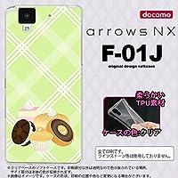F01J スマホケース arrows NX F-01J カバー アローズ エヌエックス ドーナツ nk-f01j-tp662