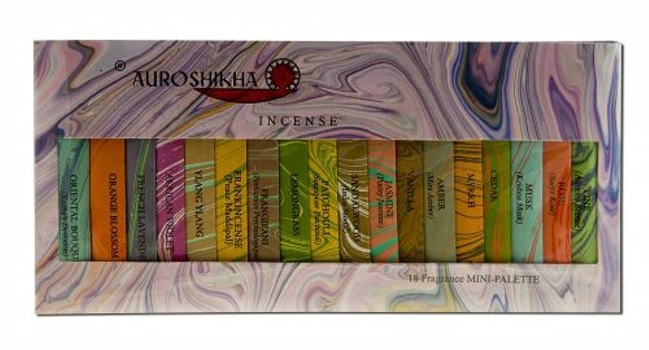寄り添うトロリーバス最も早いAuroshikha お香 クラシック 大理石 18 フレグランス サンプラー