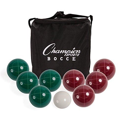 ChampionスポーツBocce Ball Set : Tournamentシリーズクラシックファミリ、パーティー、Lawn Game