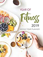 Year of Fitness 2019: Daily Diary Planner