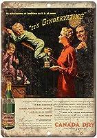 Cana Dry Ginger Ale 金属板ブリキ看板警告サイン注意サイン表示パネル情報サイン金属安全サイン